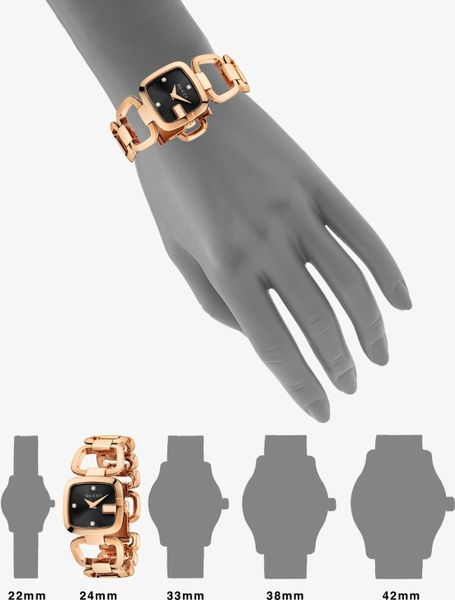 Gucci Pink Gold Watch Watch in Gold Gucci