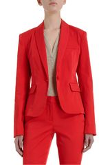L'Agence Shawl Collar Jacket - Lyst