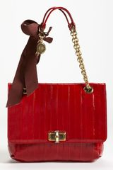 Lanvin Happy Glazed Leather Shoulder Bag - Lyst