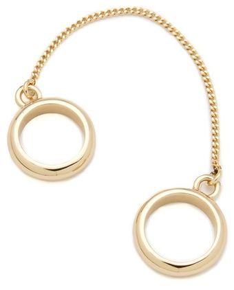 Maison Martin Margiela Chain Double Ring - Lyst