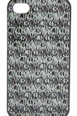 Marc By Marc Jacobs Linear Logo Iphone Case - Lyst