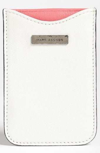 Marc Jacobs Leather Iphone Sleeve - Lyst