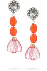 Marni Crystal Drop Earrings