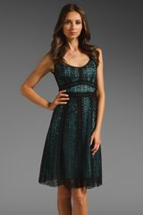Nanette Lepore Studio City Dress in Black - Lyst