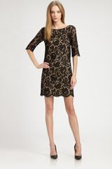 Robert Rodriguez Lace Shift Dress - Lyst