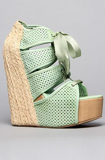 Senso Diffusion The Sazzy Shoe in Green - Lyst