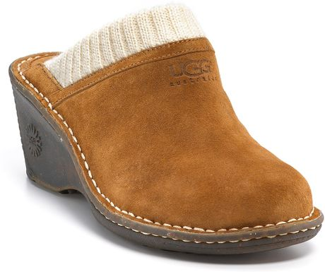 ugg wedge clogs