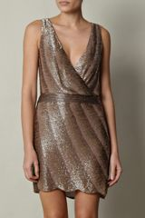 Haute Hippie Sequin Dress - Lyst