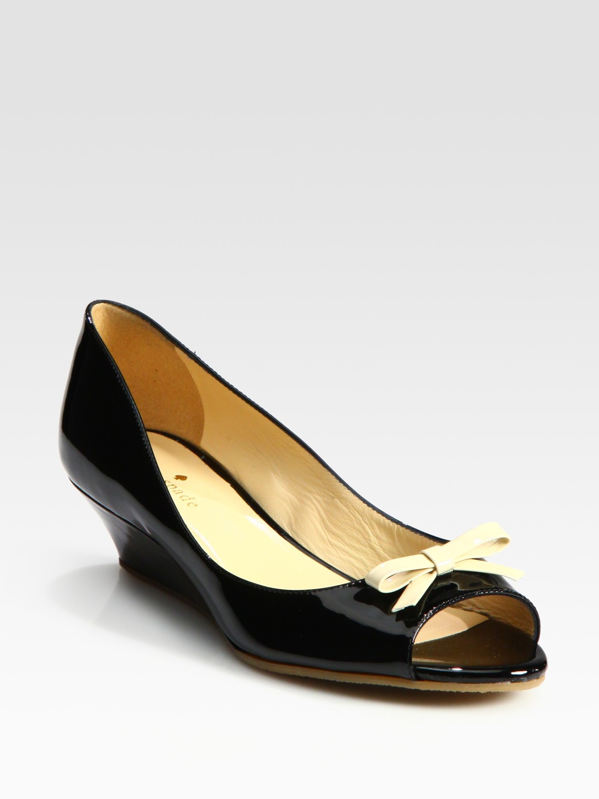 Lyst Kate Spade New York Tracey Patent Leather Peep Toe