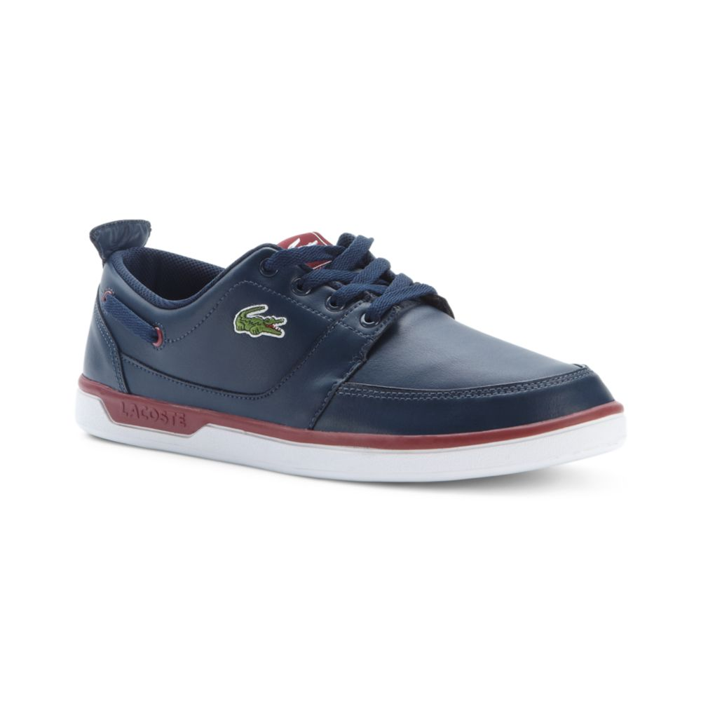 Lacoste Topa Boat Shoes in Blue for Men (navy/red)   Lyst