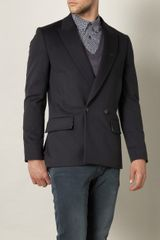Paul Smith Doublebreasted Peacoat - Lyst