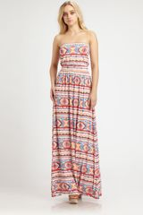 Rachel Pally Talmadge Printed Dress - Lyst