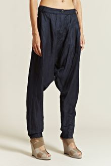 Damir Doma Damir Doma Womens Poros Drop Crotch Trousers - Lyst