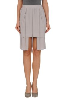 Mm6 By Maison Martin Margiela Knee Length Skirt - Lyst