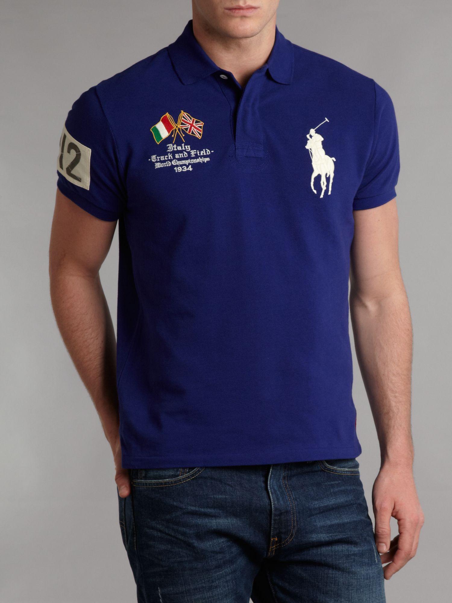 Code Polo Ralph Sale D0ba9 Promo For 9689e Lauren Blue Italy Shirt MVqpSUz
