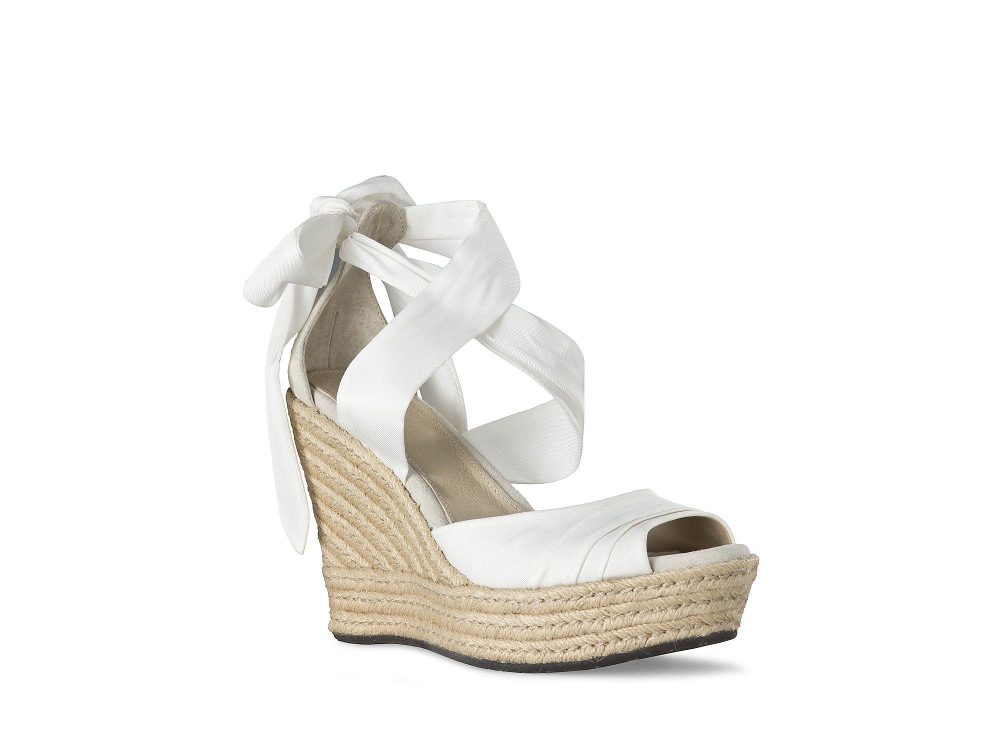 6bcb0843fa4 Lyst - UGG Sandals Lucianna Wrap in White