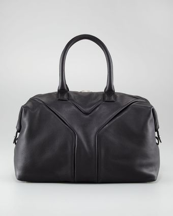 Yves Saint Laurent Easy Medium Tote Black - Lyst