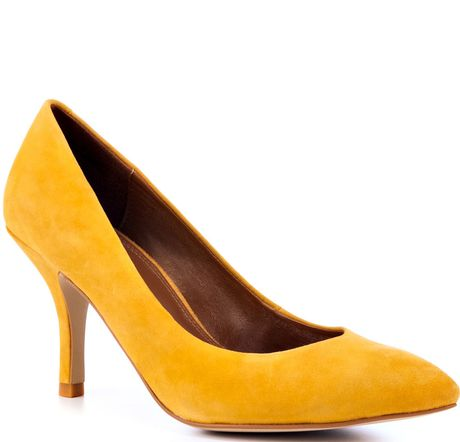 Chinese Laundry Area Bright Suede in Yellow (mustard) - Lyst