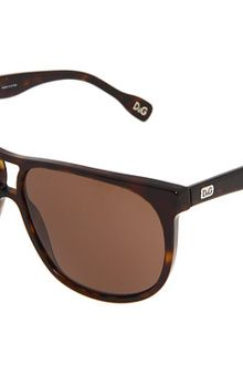 D&G Brown sunglasses - Lyst