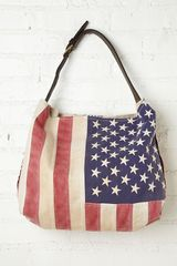 Free People Treasured Flag Tote - Lyst