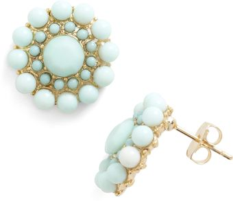 ModCloth Mint Rendition Earrings - Lyst