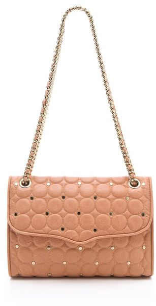 Rebecca Minkoff Polka Dot Quilted Affair Bag - Lyst