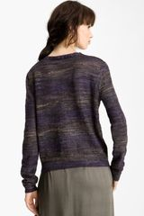 Theyskens' Theory Yenoir Keno Sweater in Purple in Gray (mauve/ purple noir) - Lyst