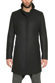 Givenchy Cashmere Blend Wool Cloth Coat - Lyst