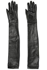 Givenchy Nappa Leather Long Gloves - Lyst