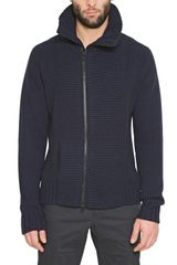Givenchy Double Zipped Wool Knit Cardigan - Lyst