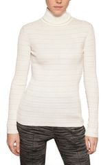 M Missoni Ribbed Knit Turtle Neck - Lyst