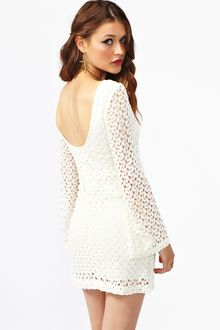 Nasty Gal Jane Crochet Dress - Lyst