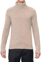 Neil Barrett Cashmere Knit Turtleneck Sweater - Lyst