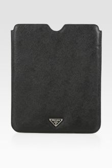 Prada Saffiano Travel Case For Ipad - Lyst