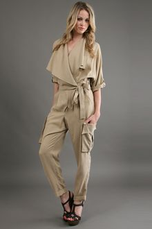 Robert Rodriguez Trench Jump in Camel 60 Off - Lyst