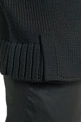 Yves Saint Laurent Heavy Wool Knit Needle Felt Sweater - Lyst