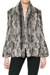Alice + Olivia Soft Faux Fur Coat
