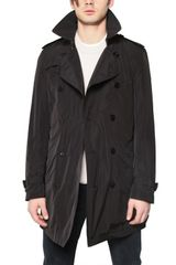 Burberry Brit Nylon Trench Coat with Quilted Vest - Lyst