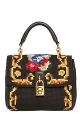 Dolce & Gabbana Mini Dolce Bag Stitched Shoulder Bag - Lyst