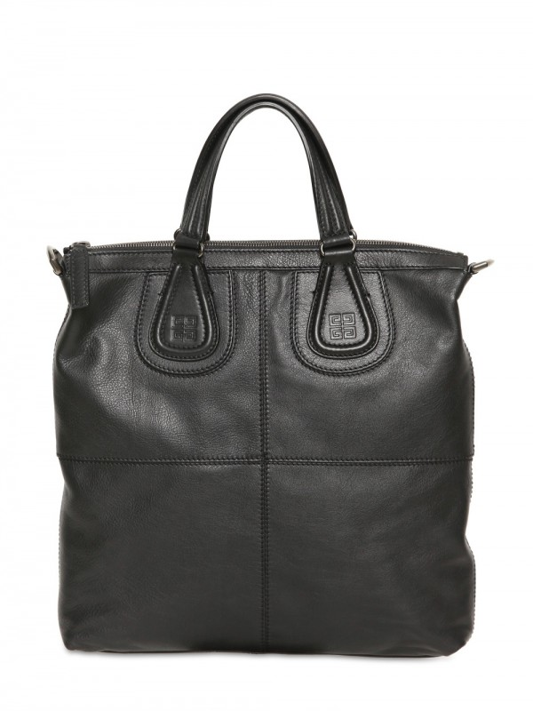 692a29deda2e Lyst - Givenchy Biker Leather Tote Bag in Black
