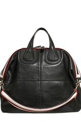 Givenchy Medium Nightingale Leather Top Handle - Lyst