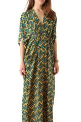 Issa Chiffon Caftan Maxi Dress - Lyst