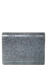 Jimmy Choo Candy Glitter Acrylic Shoulder Bag in Silver (champagne) - Lyst