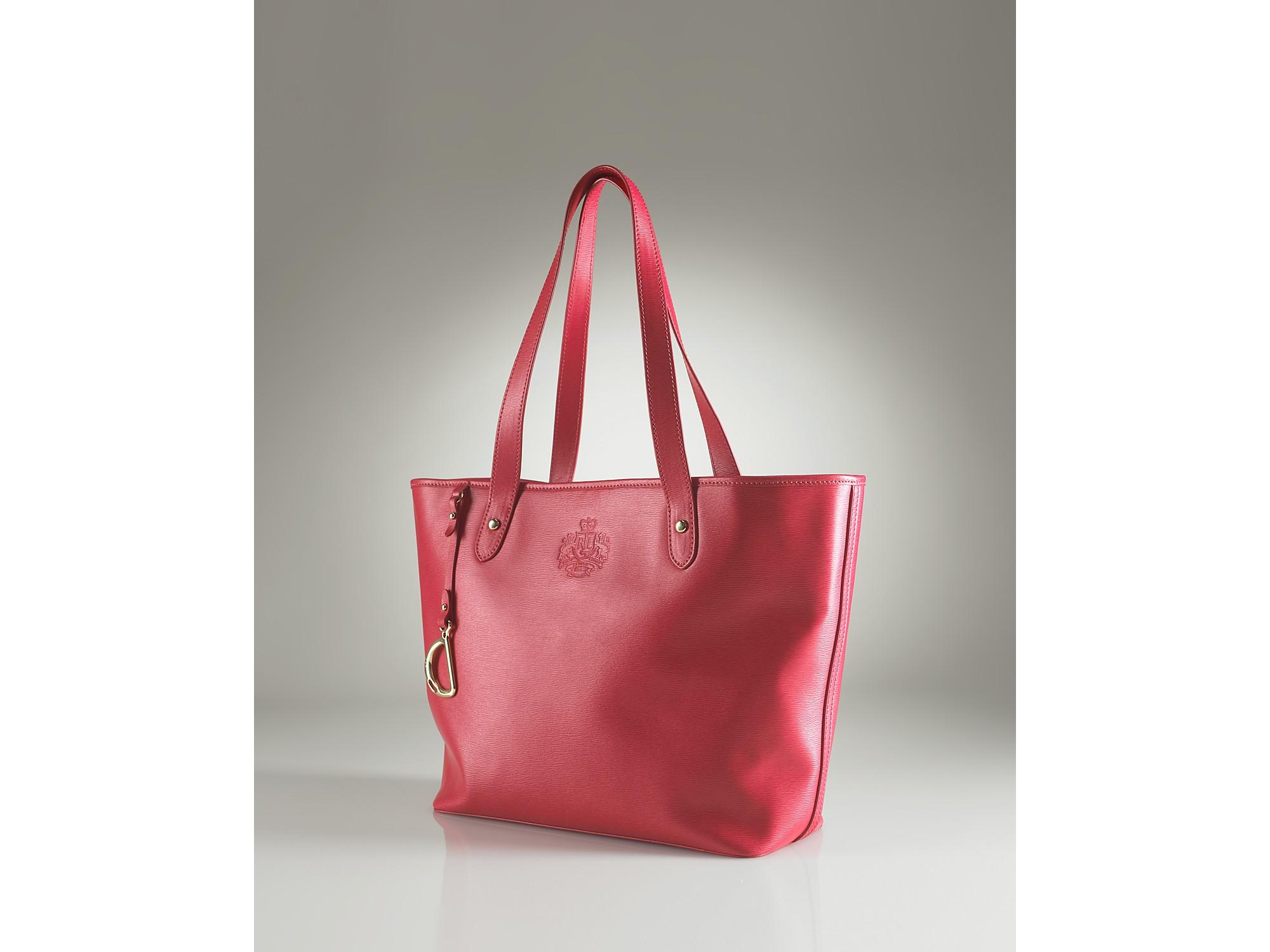 Lyst - Lauren by Ralph Lauren Lauren By Ralph Lauren Newbury Leather ... b2615ad5ad