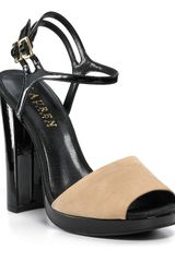 Lauren by Ralph Lauren Sandals Beatriz Block Heel Platforms - Lyst