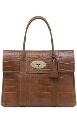 Mulberry Bayswater Printed Leather Bag - Lyst