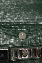 Proenza Schouler Ps11 Mini Classic Textured Leather Bag in Green - Lyst