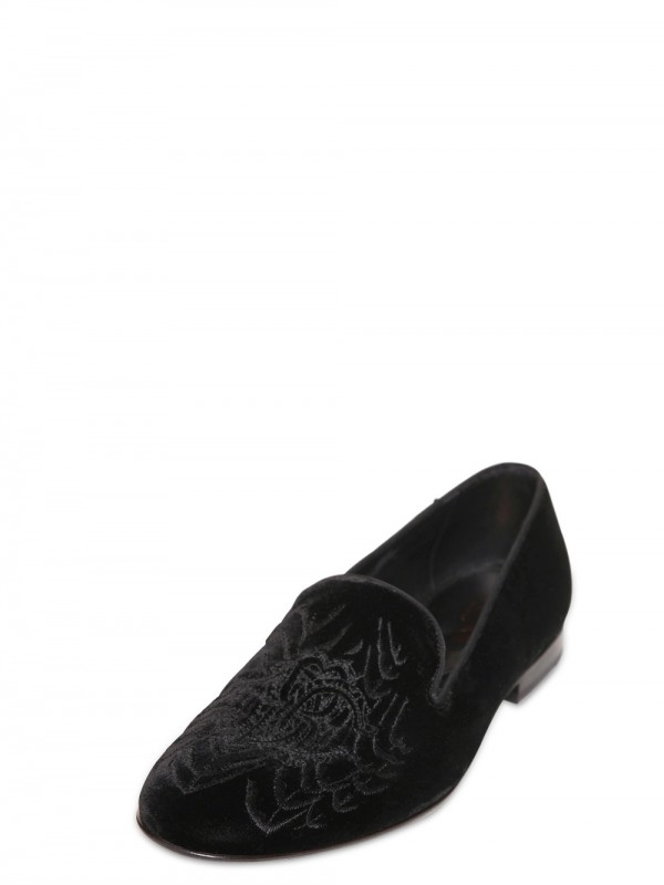 Roberto Cavalli embroidered loafers 2015 new sale online buy cheap 2014 unisex pre order sale online cheap sale geniue stockist cheap genuine kT47V