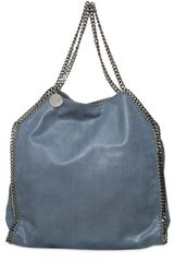 Stella McCartney Large Falabella Shaggy Faux Deer Bag - Lyst