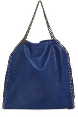 Stella McCartney Large Falabella Shaggy Eco Deer Bag - Lyst